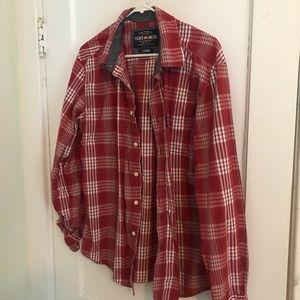 Men's Ecko long sleeve button up shirt sz large